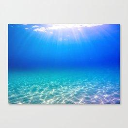 One Deep Breath Canvas Print
