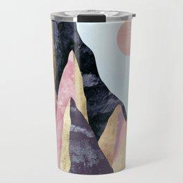 Mauve Peaks Travel Mug
