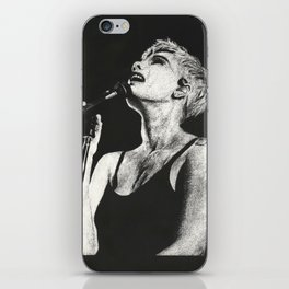 Halsey Black and White Scratchboard iPhone Skin