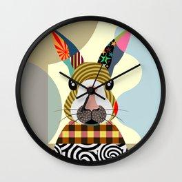 Sexy Bunny Wall Clock