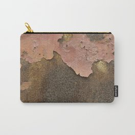 Texture #18 Rust Carry-All Pouch
