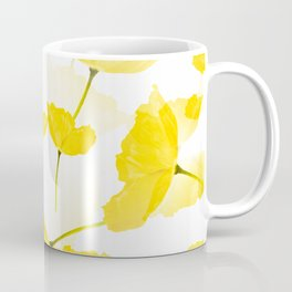 Light Yellow Poppies Spring Summer Mood #decor #society6 #buyart Coffee Mug