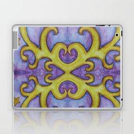 STARS & SWIRLS, watercolor painting Laptop & iPad Skin