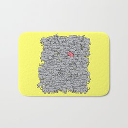 Stand Out & Be Herd Bath Mat