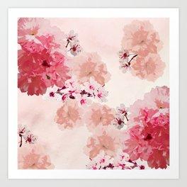 Floral Rage Art Print