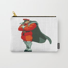 M. Bison (AKA Vega) Pixel Art Carry-All Pouch
