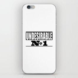 Undesirable iPhone Skin