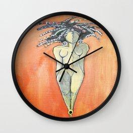 Aligned Wall Clock