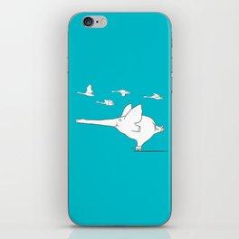 I'm like a swan iPhone Skin