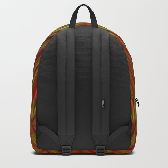 Glass with fire Backpack