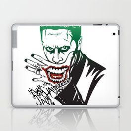 Joker_Jared Leto_Suicide Squad Laptop & iPad Skin