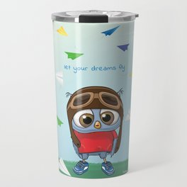 Let Your Dreams Fly Travel Mug