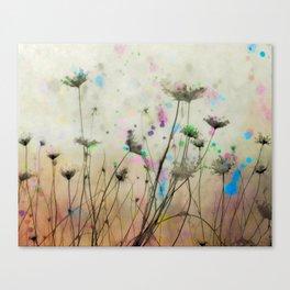 Splash Of Nature Canvas Print
