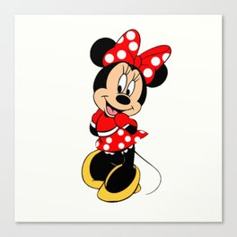Cute Minnie Mouse Canvas Print