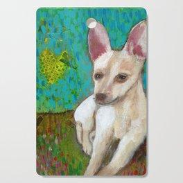 Chihuahua Love Cutting Board