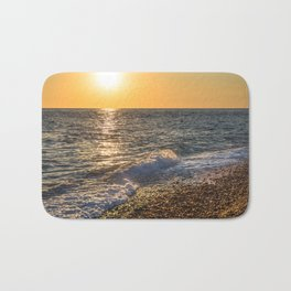 Sea sunset Bath Mat