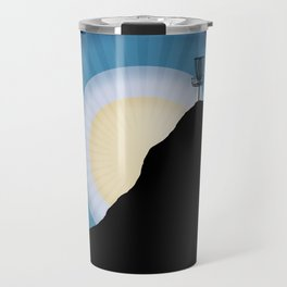 Basket On A Mountain Travel Mug