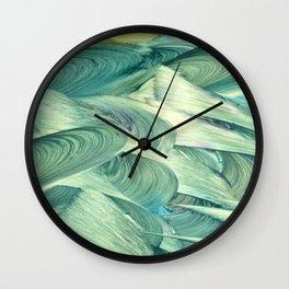 Blue Men Wall Clock