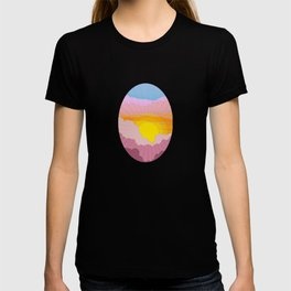 Sixties Inspired Psychedelic Sunrise Surprise T-shirt