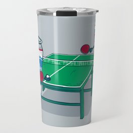 Beer Pong Travel Mug