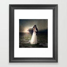 For those with eyes - Fine art magical portrait Framed Art Print