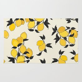 When life gives you lemons... Rug