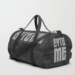 Byte Me Duffle Bag