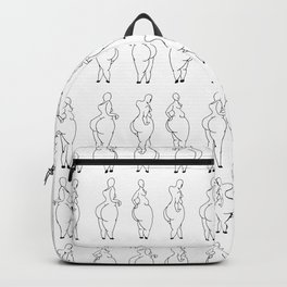big-legged woman Backpack