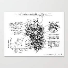 examination Canvas Print
