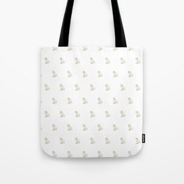 Classic Owl - White Tote Bag