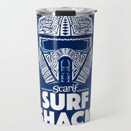 Space Surf Shack Travel Mug