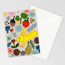 YELLOW FOREST Stationery Cards