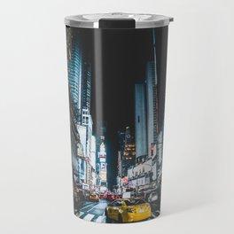 New York city night Travel Mug