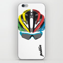 Cycling Face iPhone Skin