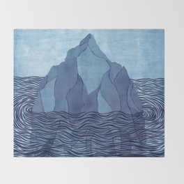 Iceberg Throw Blanket