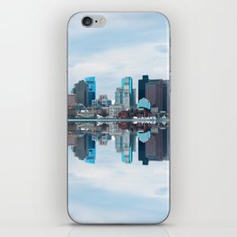 Boston reflection iPhone Skin