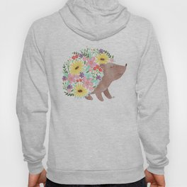 Flowering Hedgehog Hoody