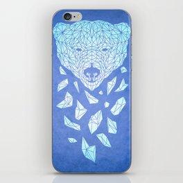 Polar Bare Blues iPhone Skin