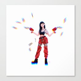 Red Velvet Seulgi Canvas Print