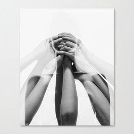 Silenced Canvas Print