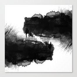LIKE LIFE WATERCOLOR PATTERN Canvas Print