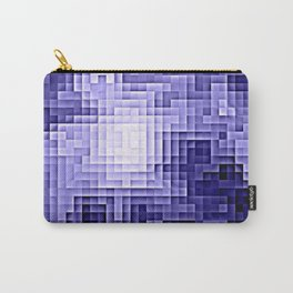 Nebula Pixels Periwinkle Lavender Carry-All Pouch