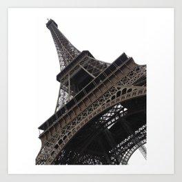Under the Eiffel Tower Art Print
