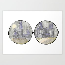 Potter Point of View Art Print