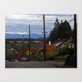 Mt. Tabor, Portland, OR Canvas Print