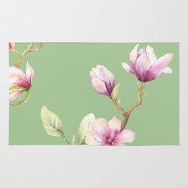 Magnolia Spring Pattern Rug