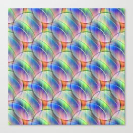 Balls softcolored Canvas Print
