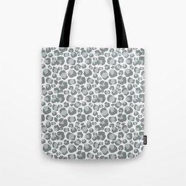 Snow Leopard Feline Tote Bag