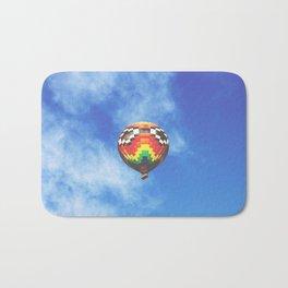 Rainbow air baloon Bath Mat