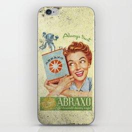 Abraxo - Custom Fallout Ad iPhone Skin